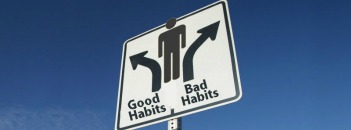 slechte gewoonte