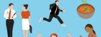 10 gezonde werkgewoontes