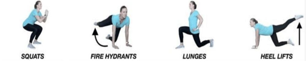 butt & leg boost oefeningen